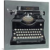 "Avery Tillmon Premium Thick-Wrap Canvas Wall Art Print Entitled Classic Typewriter 24""x24"""