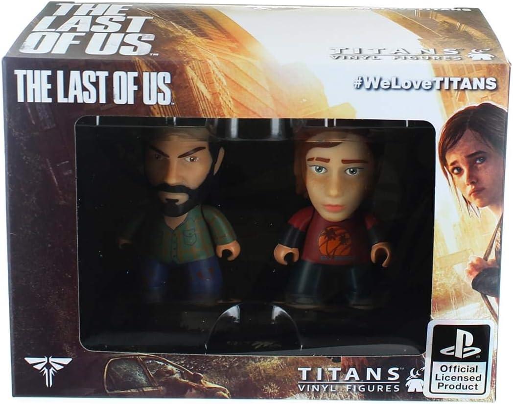 3 x The Last Of Us Titans Vinyl Figures Playstation Joel Ellie Nathan Drake