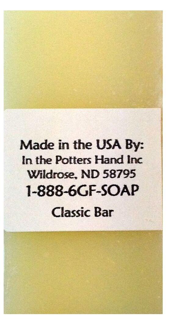 Gluten-Free Savonnerie Classic Soap Travel Size .4 oz