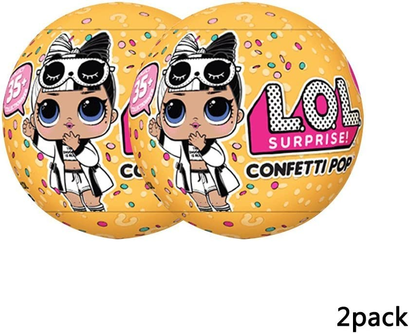 Amazon Com L O L Surprise Confetti Pop Series 3 Wave 2 Bundle Of 2 Dolls Toys Games