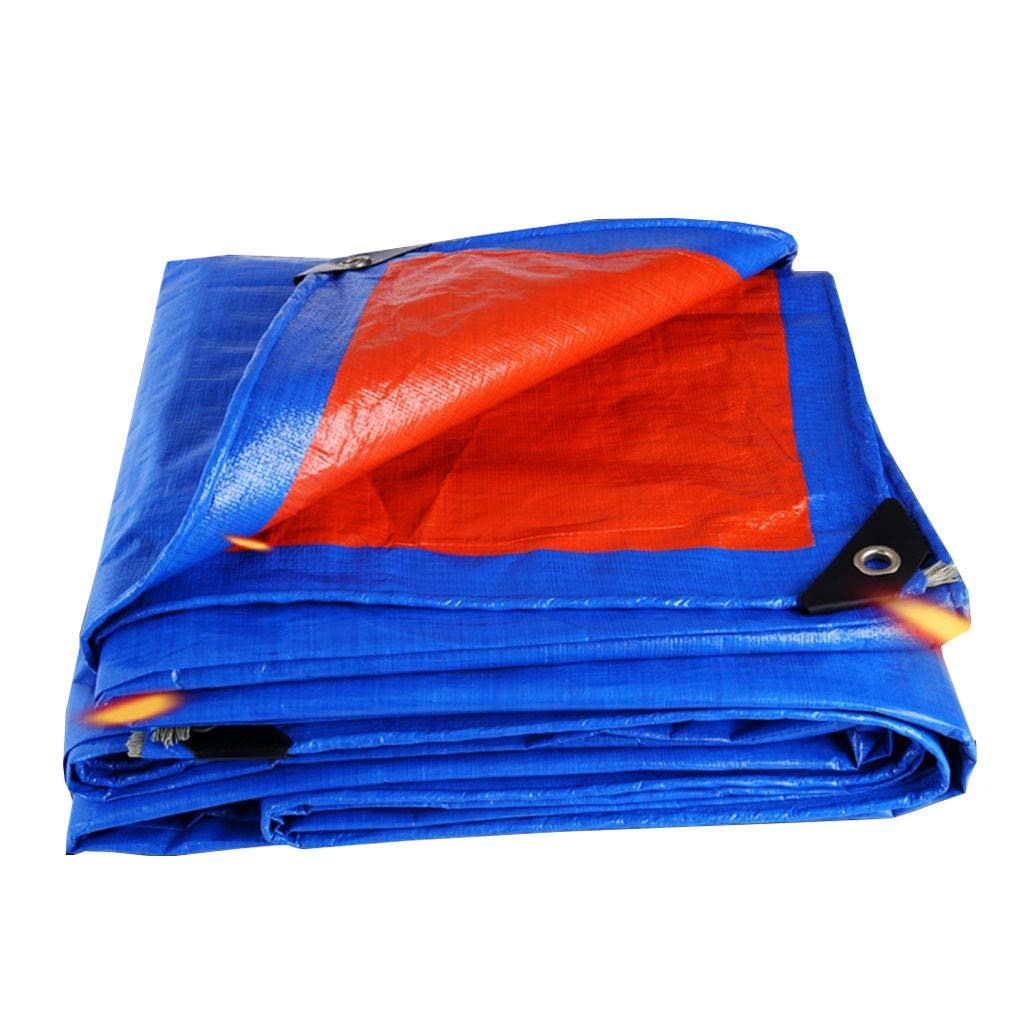 YX-Planen Leichte Plane Multi-Purpose Double Ground Sheet Covers - Super Waterproof Plane für Zuhause & Garten - Stärke 0,35 mm, 180 g/m²