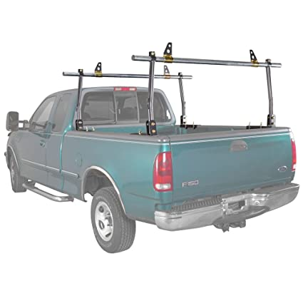 Truck Pipe Rack >> Amazon Com Apex Str Ladder Rack Pickup Truck Steel Adjustable