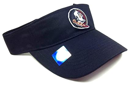 1a9414e4d84 Image Unavailable. Image not available for. Color  Black FSU Florida State  Seminoles Visor