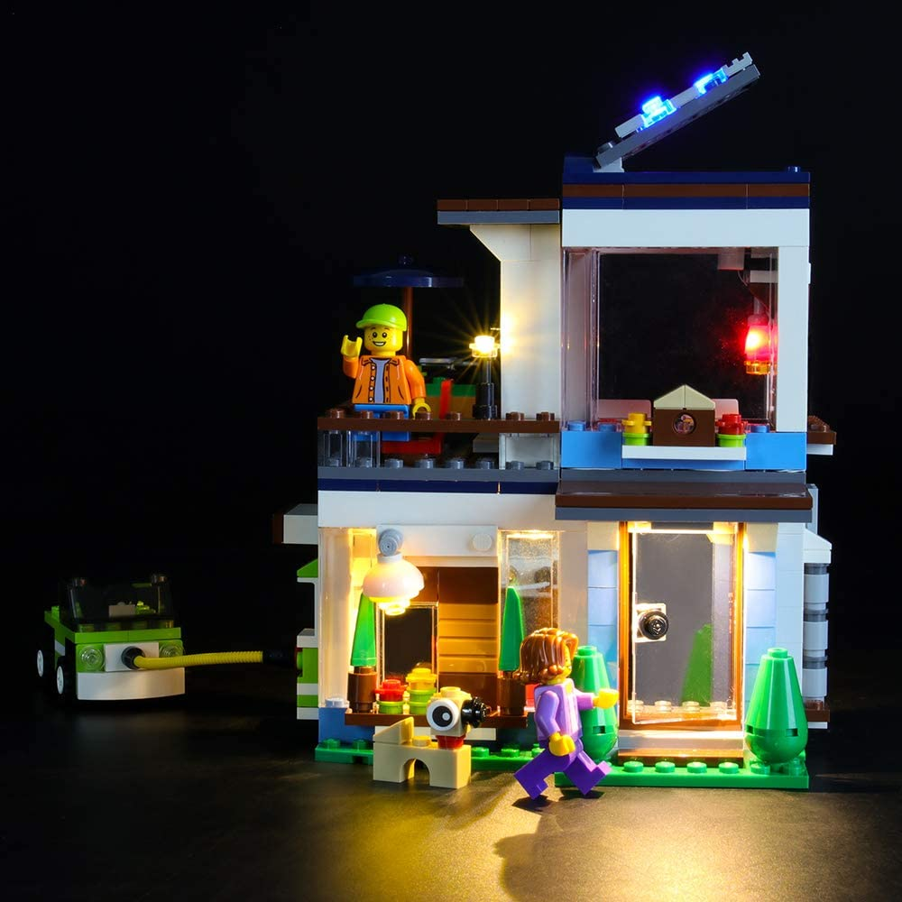 LIGHTAILING Light Set for (Creator Modular Modern Home) Building Blocks Model - Led Light kit Compatible with Lego 31068(NOT Included The Model)