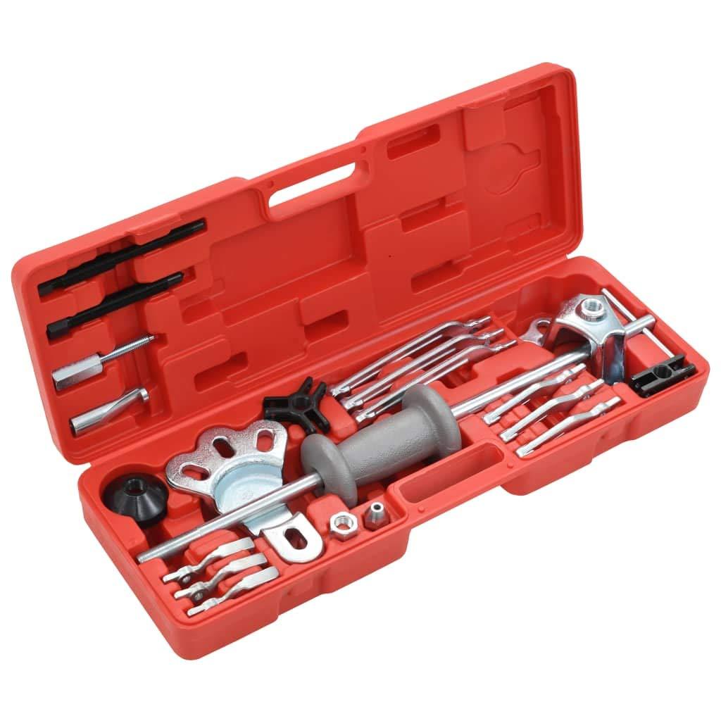GoodWork4UEu Ensemble dextracteur /à inertie /à 10 Voies Entretien v/éhicules Equipement /& Outils de Garage Outils /à Main