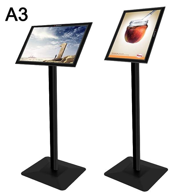 Amazon.com: Voilamart - Soporte para carteles (tamaño A3) A3 ...