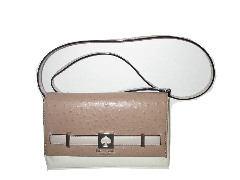 KATE SPADE Loula Houston Street Exotic Leather Crossbody Bag