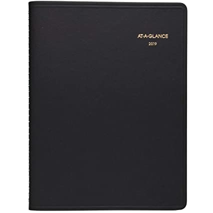 amazon com at a glance 2019 weekly planner appointment book 8 1
