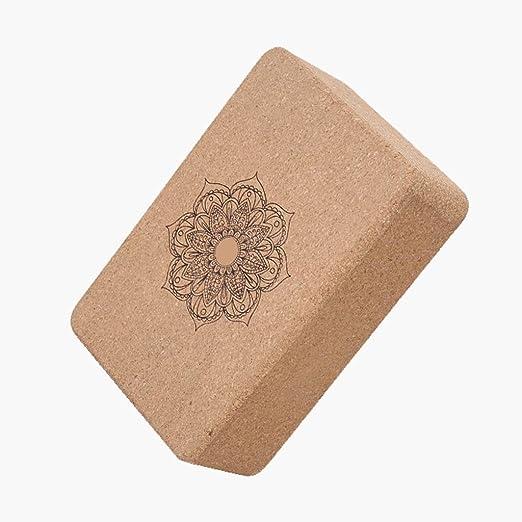 Cork Yoga Brick Ayuda A Mejorar La Fuerza Y La Flexibilidad ...