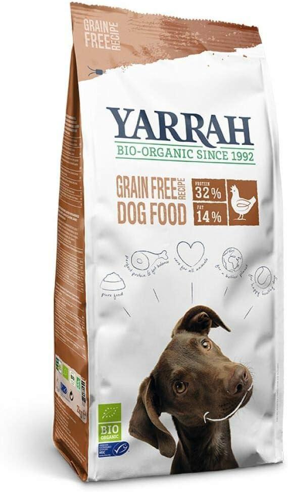 YARRAH Comida para Perros orgánica de Pollo y Pescado, 1 Unidad (1 x 10 kg)