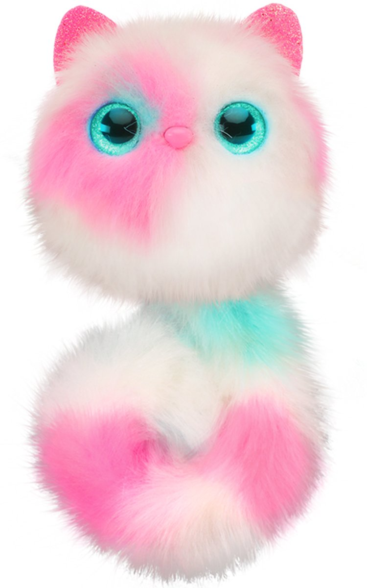 Pomsies Patches Plush Interactive Toys, White/Pink/Mint by Pomsies (Image #2)