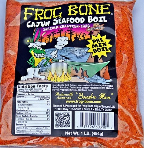 Frog Bone Cajun Seafood Boil, 1 -