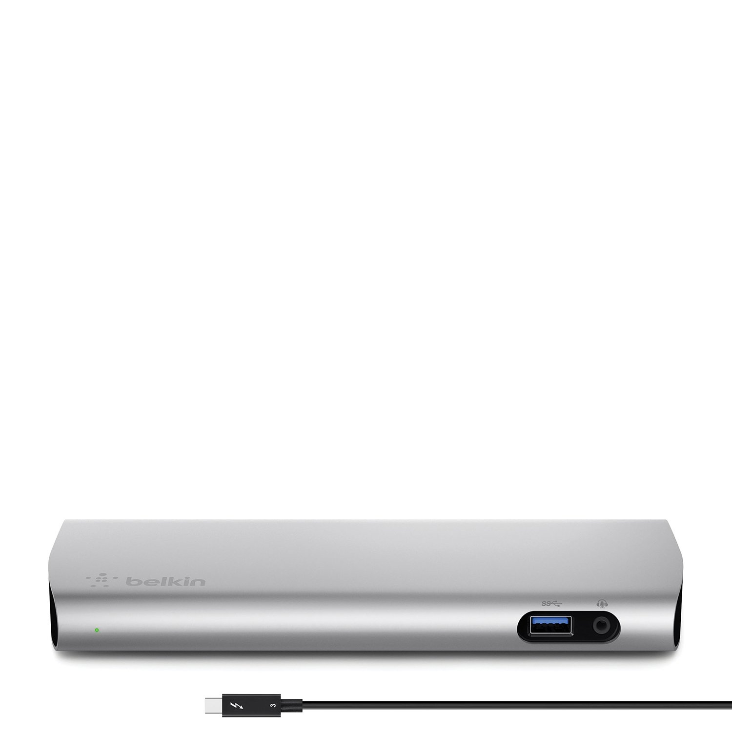 Belkin Thunderbolt 3 Express Dock HD with 3.3-Foot Thunderbolt 3 Cable, 40 Gbps, Only Compatible with 2016 MacBook Pro