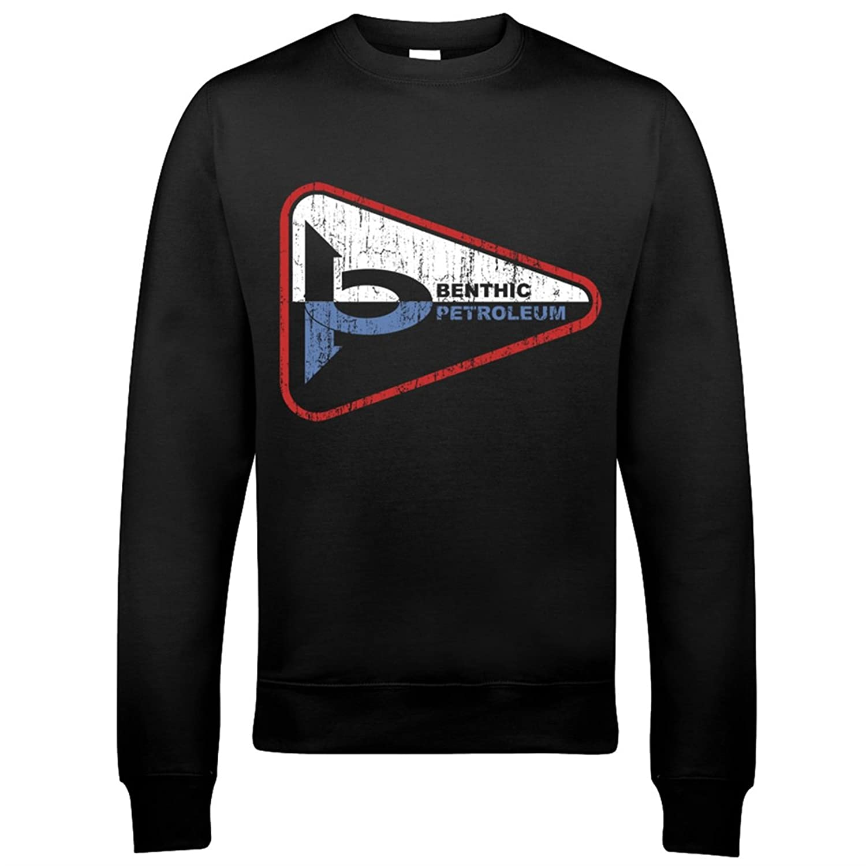 9190 Benthic Petroleum Mens Sweatshirt The Abyss Sphere Contact James Cameron Sci-Fi Horror