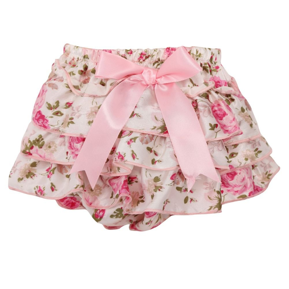 Brightup Baby Girl PP Shorts Ruffle Bloomers Nappy Underwear Panty Diaper Cover