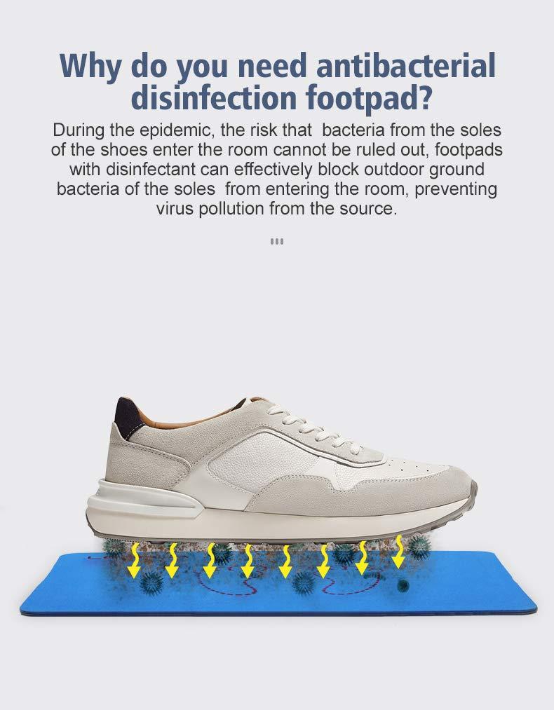 Learja Shoe Disinfectant/Mat PVA Doormat,Blue