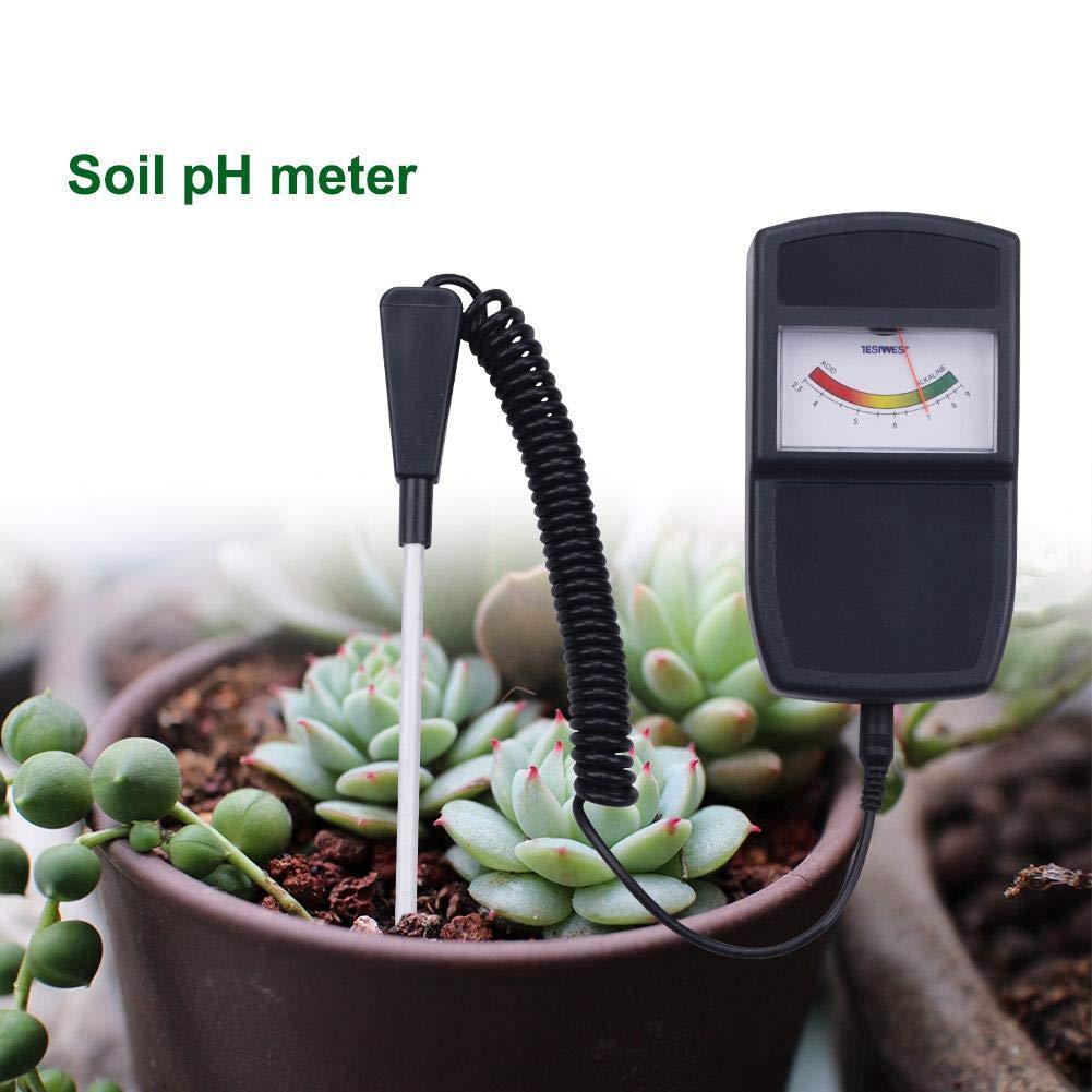 ideal f/ür Garten Split Soil Analyzer Soil Tester Multifunktionale pH-Meter Feuchtigkeit//Licht Tester Gartenger/äte Kit f/ür Pflanzenpflege Farm Rasen