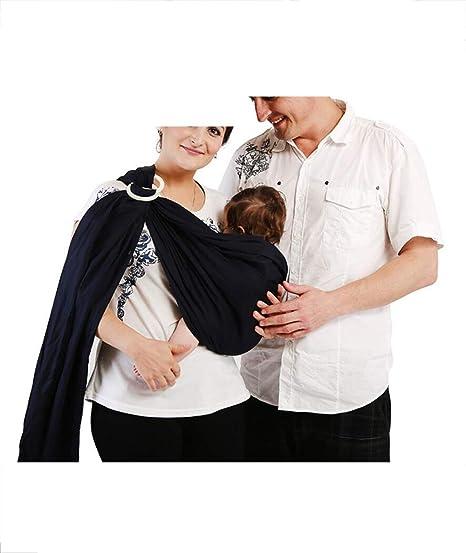 Fular Porta Baby Wrap Carrier Bebé niño bebé doble anillo ...