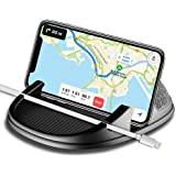 Car Phone Holder, Avanz Car Phone Mount, Universal Anti-Slip Silicone Dashboard Car Pad Mat for iPhone X/8 Plus/7 Plus/6/6S Plus, Samsung Galaxy S9/S8/Note 8/S7 3.5-7 inch Smartphone