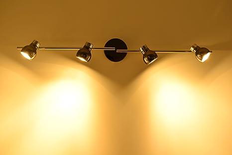 Led lampada da soffitto 4er spot deco mode diablo 5263314 interno