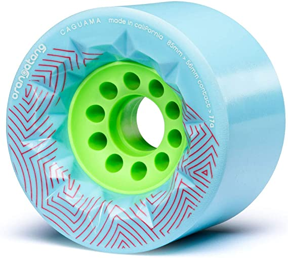 Orangatang Caguama 85 mm Longboard Wheels for Cruising