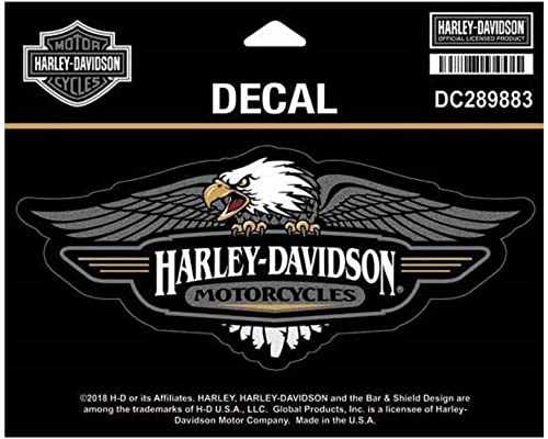 Harley-Davidson Vintage Eagle Logo Decal MD size