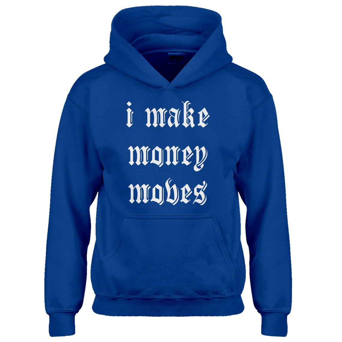 Indica Plateau Youth I Make Money Moves Kids Hoodie