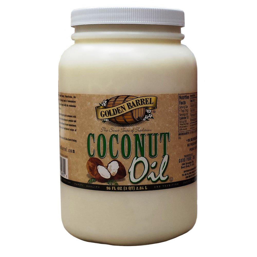 Golden Barrel Coconut Oil (96 fl. oz.)