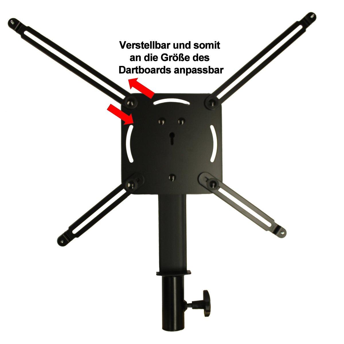 Hybrid McDart tr/ípode para E-dianas y discos de juego de dardos de acero