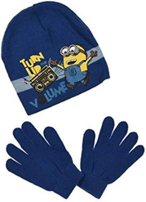 Minion Mütze & Handschuhe Set in verschiedenen Farben & Größen (HO4476)