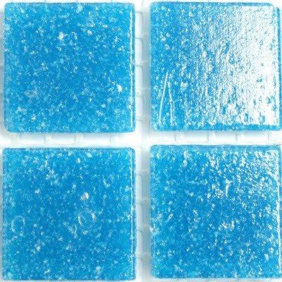 vitreux tuiles de mosaïque en verre Turquoise 20 mm: Amazon.fr ...