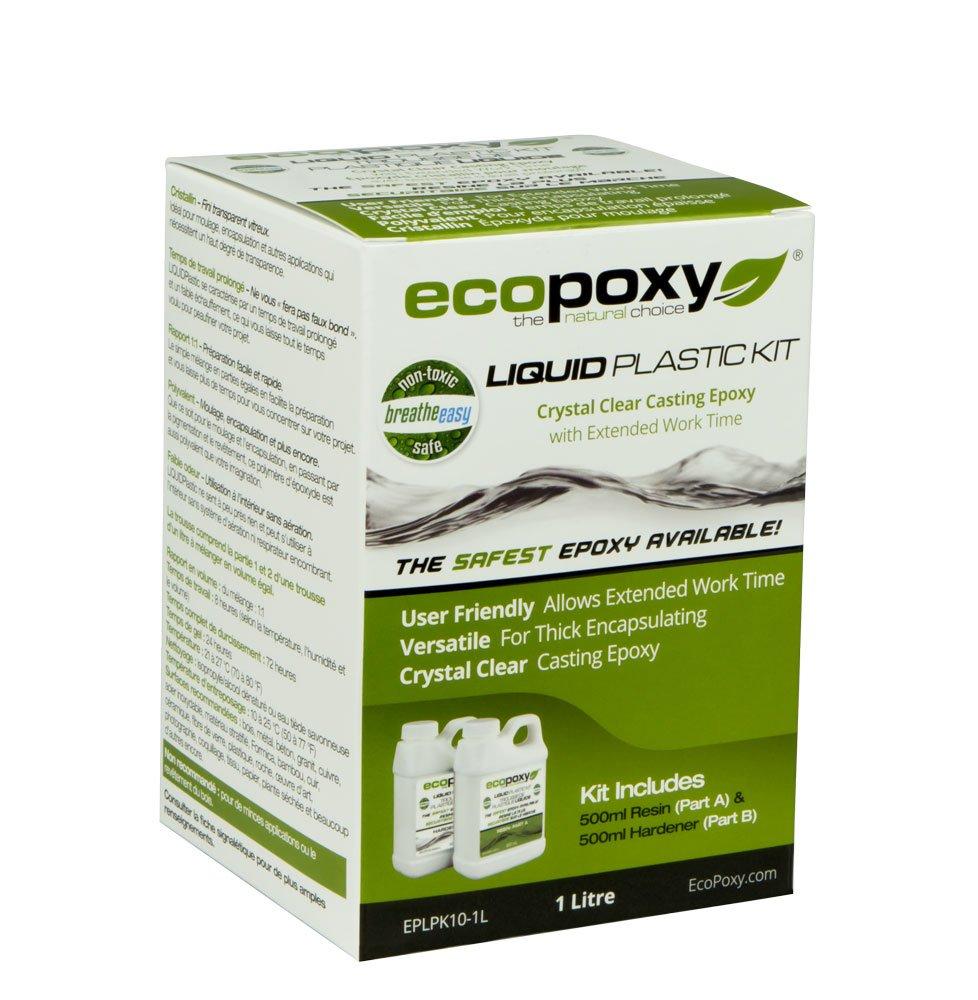 EcoPoxy - Liquid Plastic 20 Liter - 1:1 Ratio