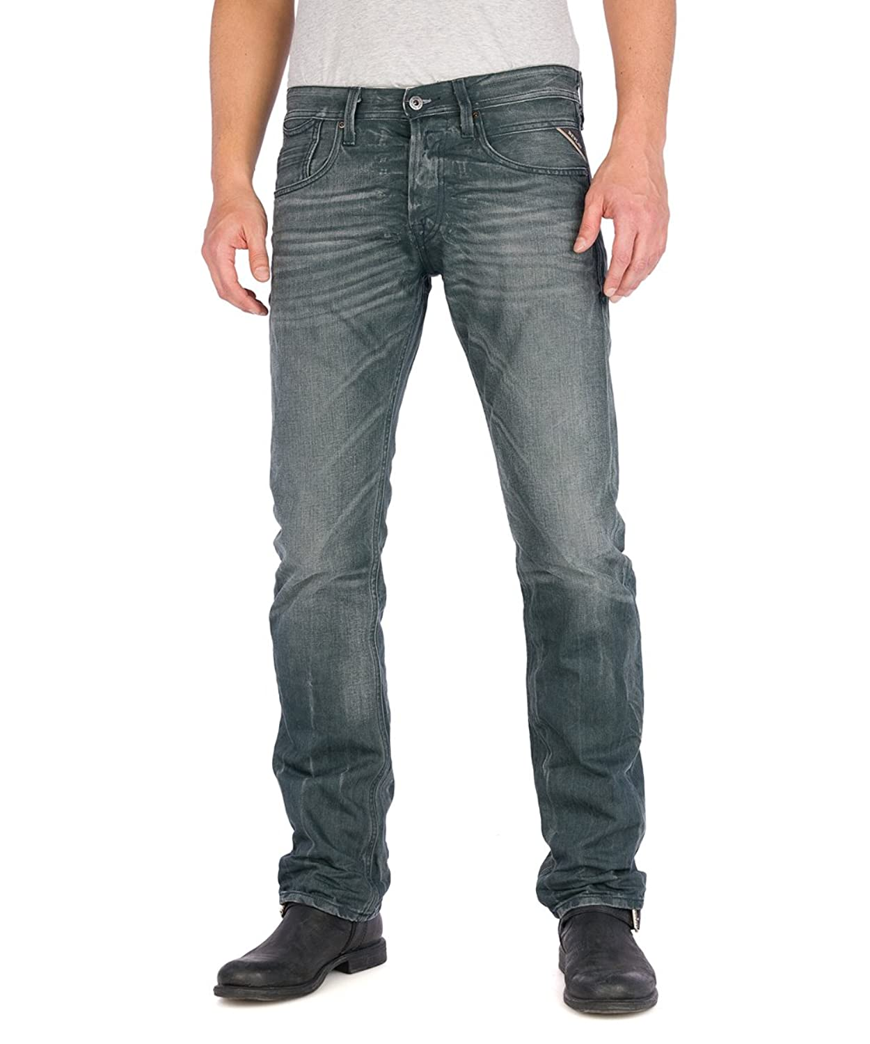 Replay Herren Straight Leg Jeans Moresk MA924
