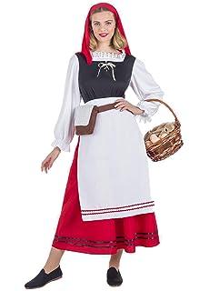 Atosa-50851 Disfraz Pastora Mujer Adulto-Tal, color rojo, M ...