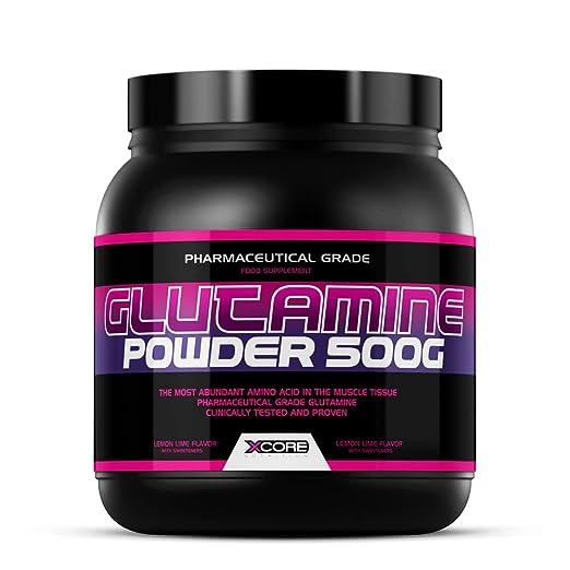 5 opinioni per Xcore Nutrition Glutamine Powder 500g : Integratore Gusto Arancia- Accresce il