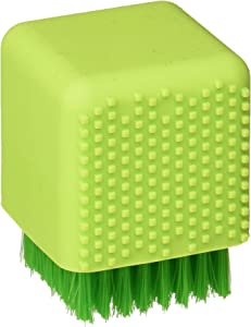 LETOOR Silicone Laundry Soft Hair Cleaning Brushed Shoe, 3 inch, Green