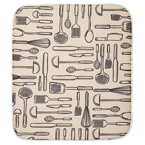 (InterDesign 40550 Mat Utensils- Large 18