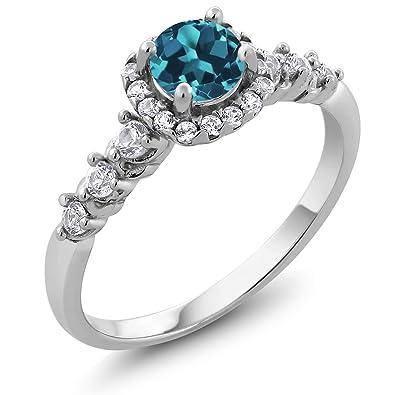 Lovely Women Wedding Pink /& White Topaz Gemstone Silver Ring Sz 6 7 8 9 10 11 12