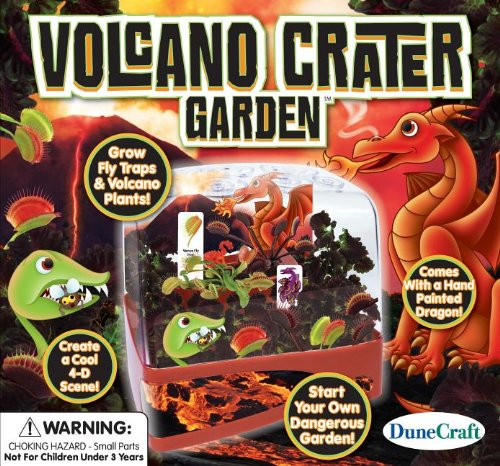 Dunecraft Volcano Crater Garden Science Kit
