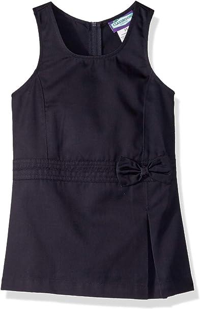 2T Classroom Little Girls Toddler Uniform Princess Seam Jumper Khaki