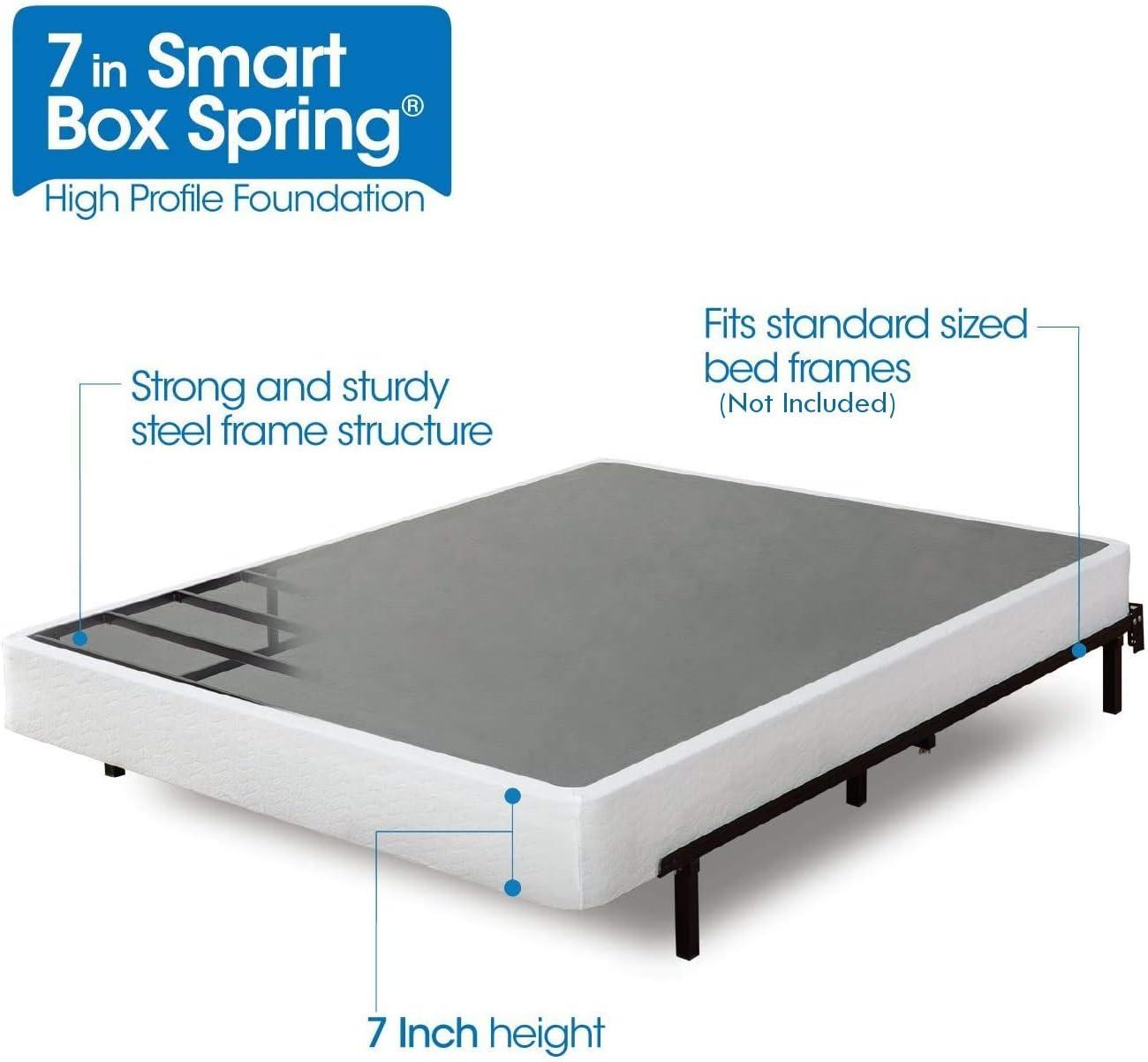 Amazon.com: Zinus Armita 7 Inch Smart Box Spring / Mattress
