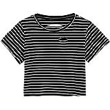 Felpe Tumblr Donne Ragazza Kword Maglia Maglietta Donna Manica Corte Camicetta Estate con Stampa Rosa Camicetta Elegante Casual Camicie Felpa Pullover T-Shirt