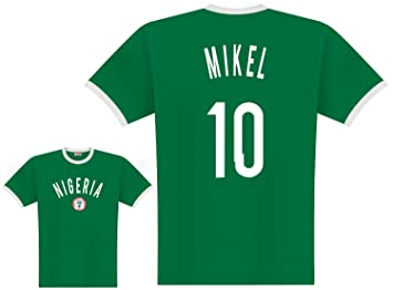 World of Football Player Camiseta Nigeria Mikel