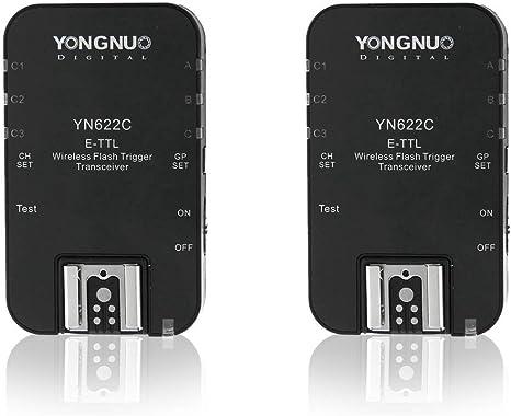 YONGNUO yn622c-tx E-TTL flash controller controllo flash per Canon