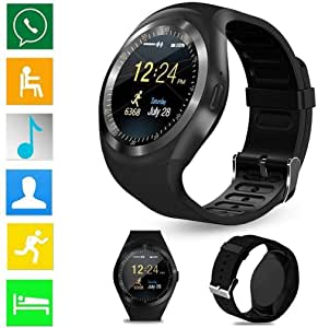 Amazon.com: Lunir Bluetooth Smart Watch Fitness Activity ...