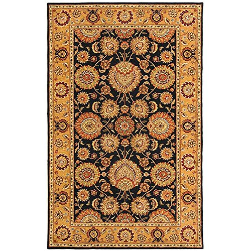 Court Runner Area Rug (Safavieh Persian Court Collection PC448B Handmade Multicolored Wool Area Rug (5' x 8'))