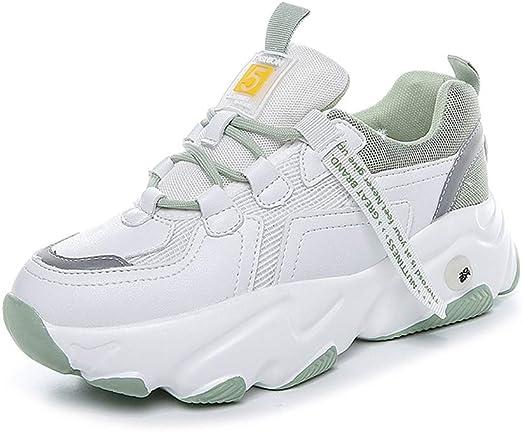 JXILY Zapatos Deportivos Zapatos Casuales de Red para Correr Zapatos Transpirables Zapatillas Sneakers Running Fitness Sneakers Mujer Deporte: Amazon.es: Deportes y aire libre