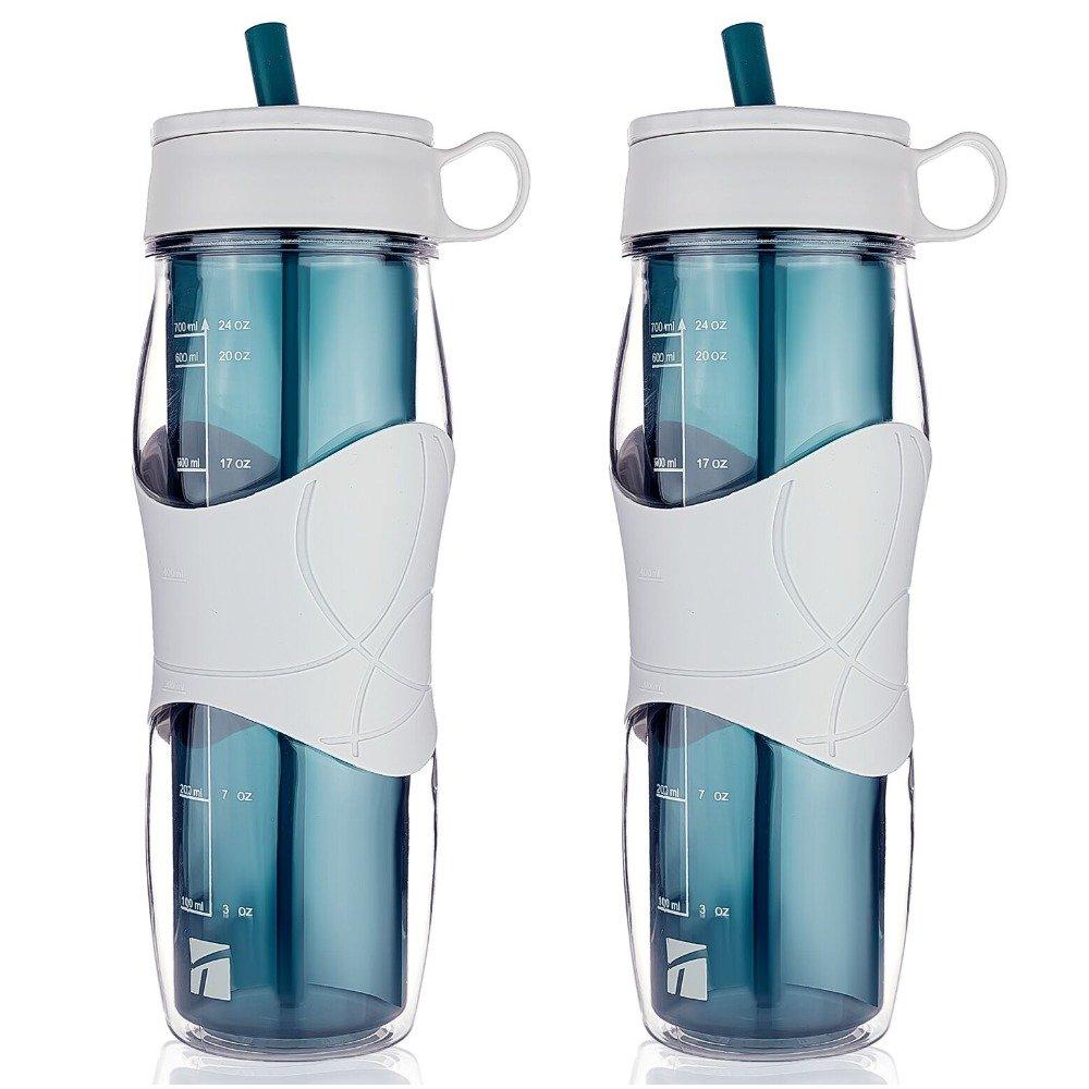 【60%OFF】 Trudeau 2 - Pack Pack Cool Off Hydration Trudeau - Bottle アクアブルー B014DXC4QC, eモンズ:fcf78a80 --- kickit.co.ke