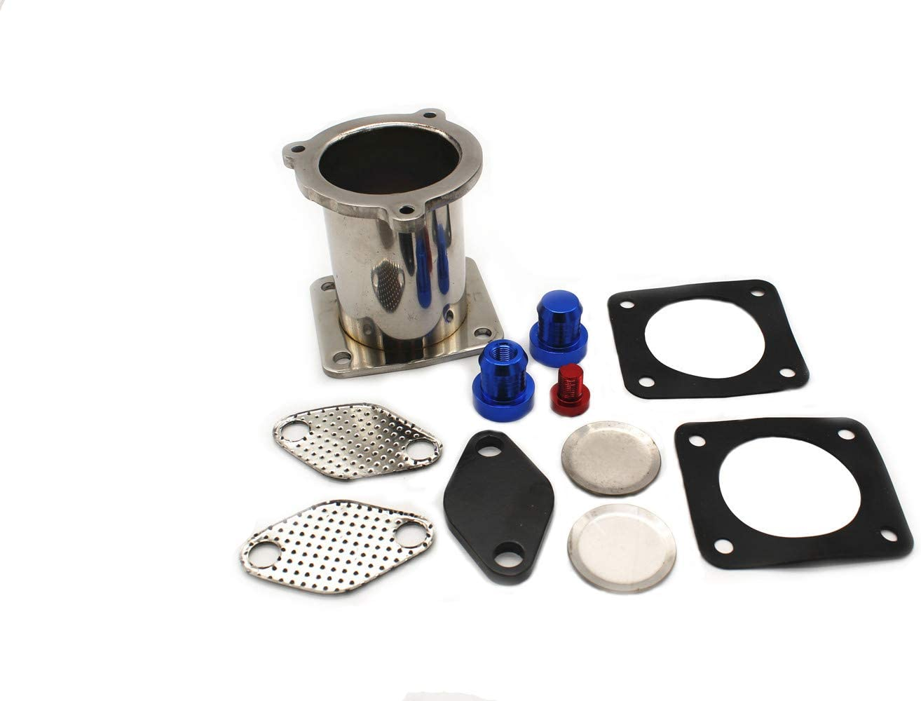 TAKPART EGR Ausbau Reparatursatz AGR /& Cooler Delete Removal Kit f/ür 5er E60 E61 E61N 535D 520i