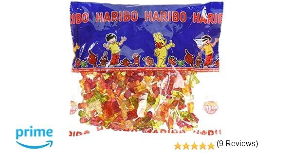 Haribo - Ositos - Caramelos de goma - 1 kg - [pack de 2]: Amazon.es: Alimentación y bebidas